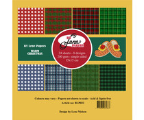 By Lene Warm Christmas 6x6 Inch Paper Pack (BLP022)