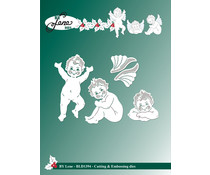 By Lene Angels Cutting & Embossing Dies (BLD1394)