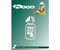 By Lene Candy Jar Cutting & Embossing Dies (BLD1393)