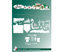 By Lene Christmas Landscape Cutting & Embossing Dies (BLD1391)