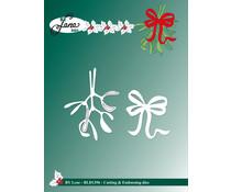 By Lene Mistletoe Cutting & Embossing Dies (BLD1396)