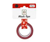 Carta Bella Washi Tape Christmas Snowflake (CBHFC139037)