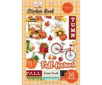 Carta Bella Welcome Autumn Sticker Book (CBWA138029)