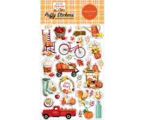 Carta Bella Welcome Autumn Puffy Stickers (CBWA138066)