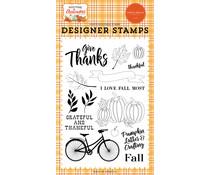 Carta Bella I Love Fall Most Clear Stamps (CBWA138043)