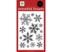 Carta Bella Snowflake Season Clear Stamps (CBHFC139045)