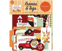 Carta Bella Welcome Autumn Frames & Tags (CBWA138025)