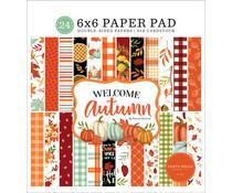 Carta Bella Welcome Autumn 6x6 Inch Paper Pad (CBWA138023)