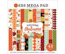 Carta Bella Welcome Autumn 6x6 Inch Cardmakers Mega Pad (CBWA138031)