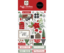Carta Bella Home For Christmas Puffy Stickers (CBHFC139066)