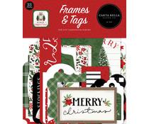 Carta Bella Home For Christmas Frames & Tags (CBHFC139025)