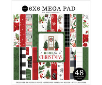 Carta Bella Home For Christmas 6x6 Inch Cardmakers Mega Pad (CBHFC139031)