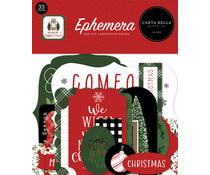 Carta Bella Home For Christmas Ephemera (CBHFC139024)