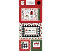 Carta Bella Home For Christmas Chipboard Frames (CBHFC139065)