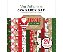 Echo Park Jingle All The Way 6x6 Inch Paper Pad (JIN252023)
