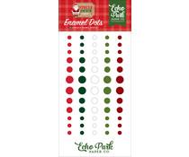 Echo Park Jingle All The Way Enamel Dots (JIN252028)
