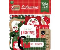 Echo Park Jingle All The Way Ephemera (JIN252024)