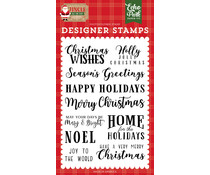 Echo Park Christmas Wishes Clear Stamps (JIN252044)