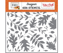 Echo Park Autumn Time Stencil (FAL251033)