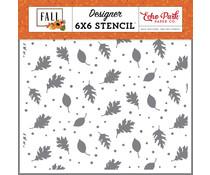 Echo Park Brisk Leaves Stencil (FAL251035)