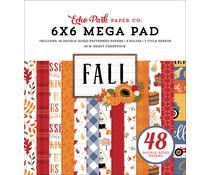 Echo Park Fall 6x6 Inch Cardmakers Mega Pad (FAL251031)