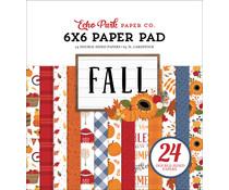 Echo Park Fall 6x6 Inch Paper Pad (FAL251023)