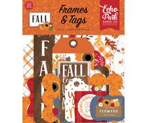 Echo Park Fall Frames & Tags (FAL251025)