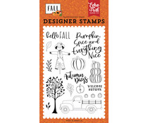 Echo Park Welcome Autumn Clear Stamps (FAL251043)