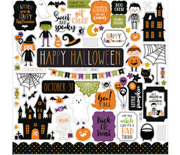 Echo Park Halloween Magic 12x12 Inch Element Sticker (HMA249014)