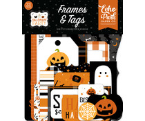 Echo Park Halloween Party Frames & Tags (HP250025)