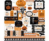Echo Park Halloween Party 12x12 Inch Element Sticker (HP250014)