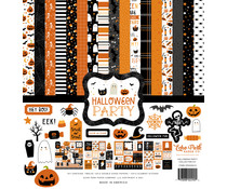 Echo Park Halloween Party 12x12 Inch Collection Kit (HP250016)