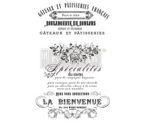 Re-Design with Prima Decor Transfers 24x35 Inch French Specialties (649975)