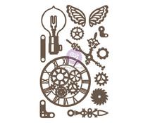 Prima Marketing Beautiful Gears Chipboard Diecut (13pcs) (653538)