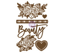 Prima Marketing Beauty Arises Chipboard Diecut (6pcs) (653576)