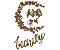 Prima Marketing Hopeful Beauty Chipboard Diecut (4pcs) (653606)