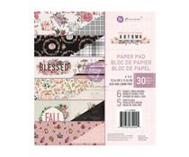 Prima Marketing Hello Pink Autumn 6x6 Inch Paper Pad (654245)