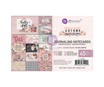 Prima Marketing Hello Pink Autumn 4x6 Inch Journaling Cards (654290)