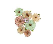 Prima Marketing Hello Pink Flowers Warm Mittens (655105)