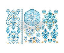 Re-Design with Prima Decor Transfers 6x12 Inch Artisinal Tile (3 Sheets) (655952)