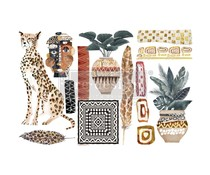 Re-Design with Prima Decor Transfers 6x12 Inch Tribal Essence (3 Sheets)  (656072)