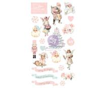 Prima Marketing Christmas Sparkle Puffy Stickers (22pcs) (997793)