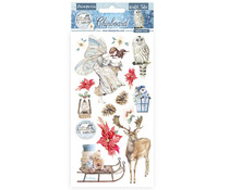 Stamperia Chipboard 15x30cm Winter Tales Christmas Elements (DFLCB33)