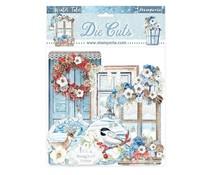 Stamperia Winter Tales Quotes & Labels Die Cuts (DFLDC41)