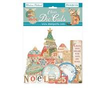 Stamperia Christmas Patchwork Clear Die Cuts (DFLDCP08)