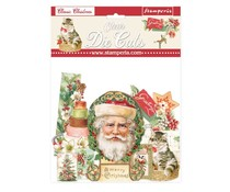 Stamperia Classic Christmas Clear Die Cuts (DFLDCP09)
