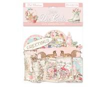 Stamperia Pink Christmas Clear Die Cuts (DFLDCP10)