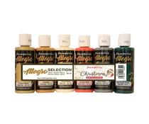 Stamperia Allegro Paint Kit Romantic Christmas (6pcs) (KALKit10)