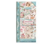 Stamperia Pink Christmas 6x12 Inch Paper Pack (SBBV09)