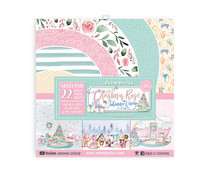 Stamperia Christmas Rose 12x12 Inch Maxi Paper Pack (SBBXLB12)